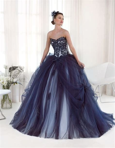 lilim darkness wedding blue foto abiti da sposa delsa 2016