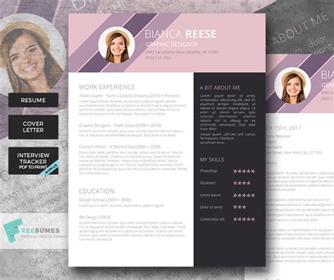 Resume Design Inspiration by 15 Beautiful Resume Designs For Your Inspiration