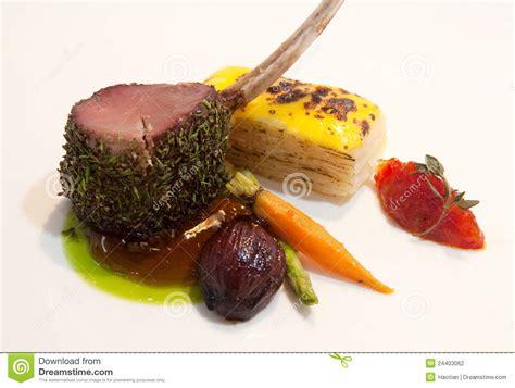 Rack Of Lamb gourmet lamb chop stock photography image 24403062
