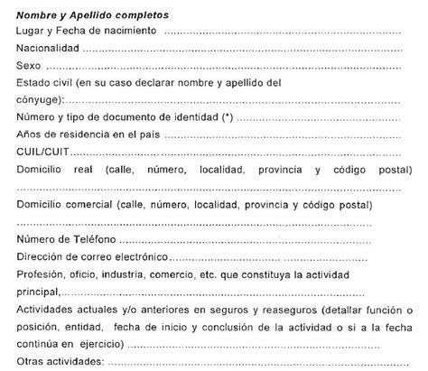 Declaraci N Jurada De Ingresos Para Actualizaci N Del | declaraci n jurada de ingresos para actualizaci n del