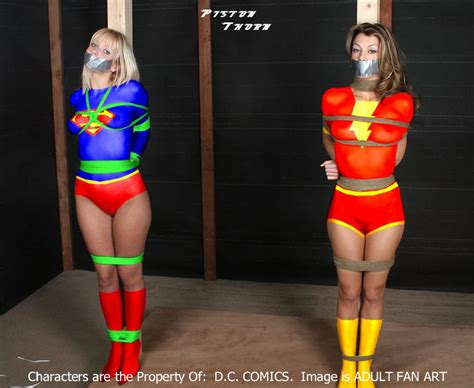 march 2012 bondage video discussion forum archive supergirl bound hmm supergirl is bound with green rope