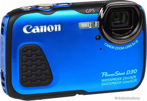 Kamera Canon Underwater canon d30 underwater review