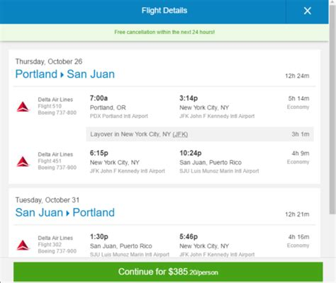 The Flight Deal   Delta ? $385: Portland ? San Juan