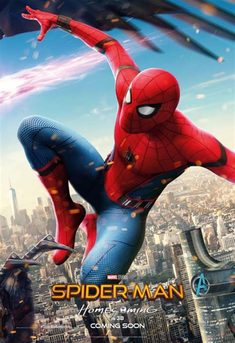 spider homecoming three new spider homecoming posters combine into one