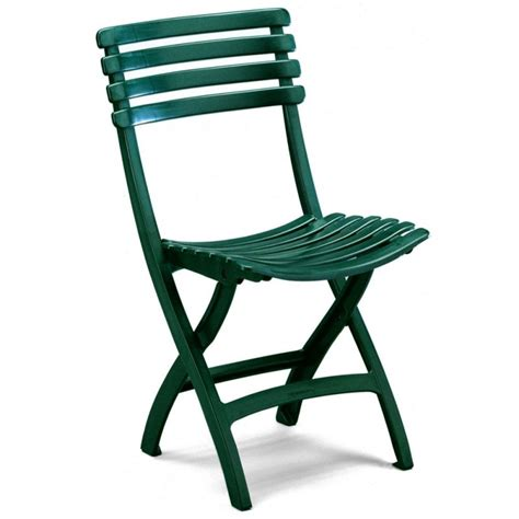 Green Plastic Patio Chairs Green Folding Outdoor Bistro Chair M 42 026 Cozydays