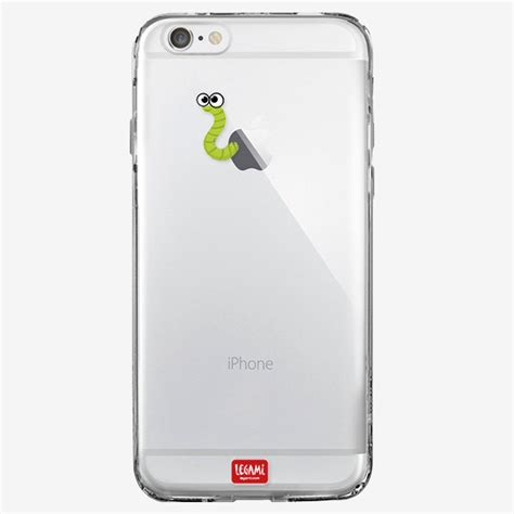 Cover Iphone 6 Clear Cover Iphone 6 Worm Legami