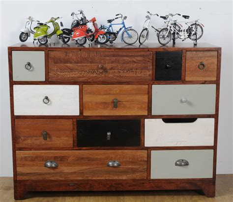 Large Chest Of Drawers by Large Mismatched Vintage Chest Of Drawers By Made With