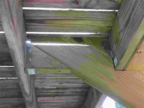 deck   attach stringers building construction