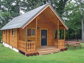 square log cabins