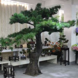 china artificial evergreen pine tree with bifurcation