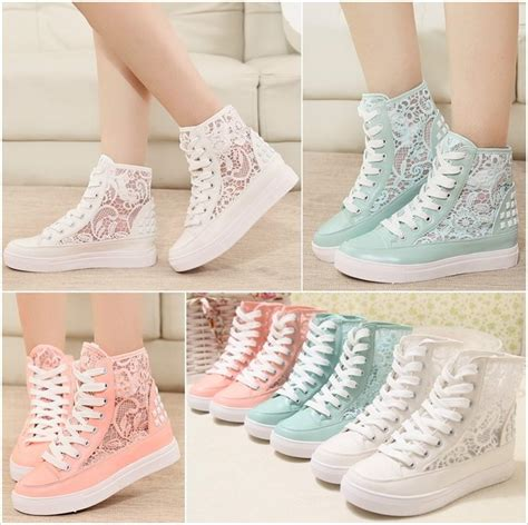 cutest sneakers these stylish lace sneakers are ideal for summer