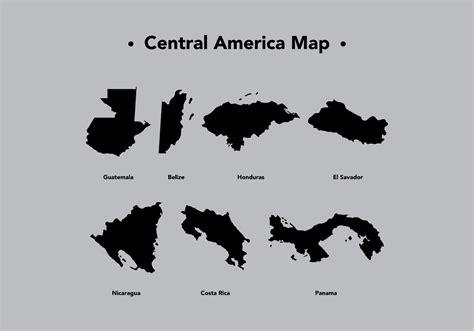america map vector eps midden amerika kaart vector grafieken gratis