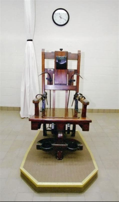 Chaise Electrique Execution by Preparation For Electric Chair Pictures To Pin On