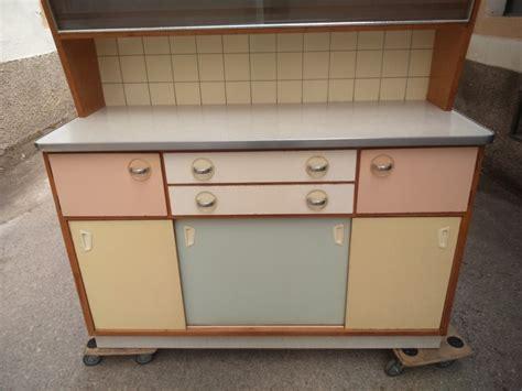 kredenz 60er vintage k 252 chenschrank midcentury 50er 60er jahre pastell
