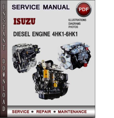 small engine repair manuals free download 1992 isuzu impulse electronic valve timing isuzu diesel engine 4hk1 6hk1 factory service repair manual servicemanualsrepair