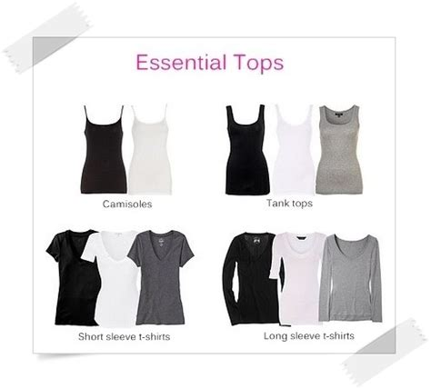 wardrobe essentials checklist for list of