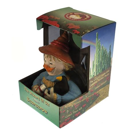 wizard of oz rubber sts scarecrow wizard of oz rubber duck celebriduck ebay