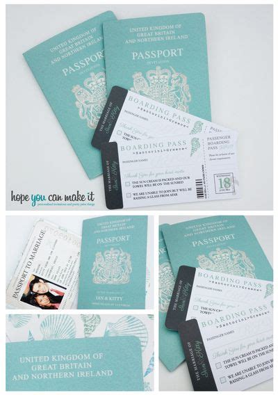 wedding invitations for marrying abroad best 25 passport invitations ideas on