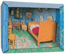 Gogh Bedroom Perspective Lesson 28 Best Images About One Point Perspective On