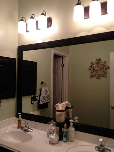 bathroom wall mirrors large 20 inspirations large framed bathroom wall mirrors