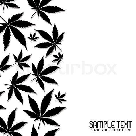 black and white weed wallpaper abstrakt schwarz cannabis blatt design mit textfreiraum