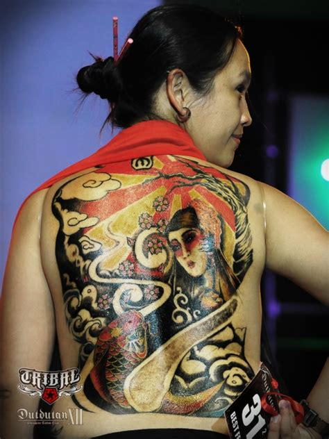 tribal gear dutdutan tattoo festival 2012 tattoo