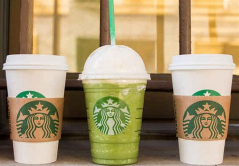 Handcrafted Starbucks - free handcrafted beverage with any purchase
