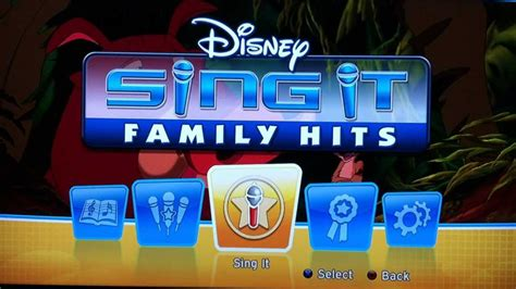 Sing It disney sing it family hits platinum trophy bmj14772