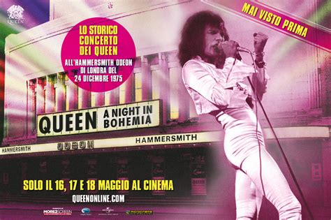 film queen a night in bohemia queen a night in bohemia rome central magazine city on