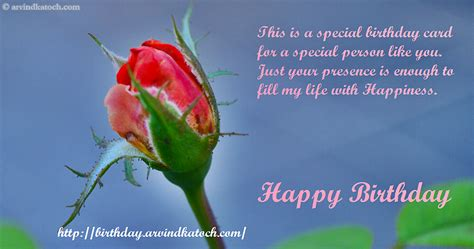 Happy Birthday Wishes To Special Person True Hd Picture Happy Birthdy Card On Fill My Life With