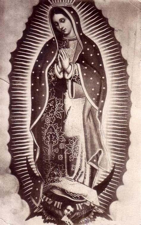 guadalupe tattoo design a mexican postcard from 1927 of our of guadalupe