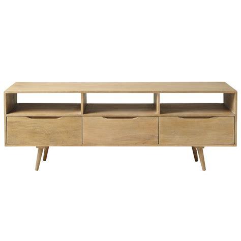 Ordinaire Maison Du Monde Meuble Tv #5: meuble-tv-vintage-en-manguier-l-165-cm-trocadero-1000-0-18-130152_3.jpg