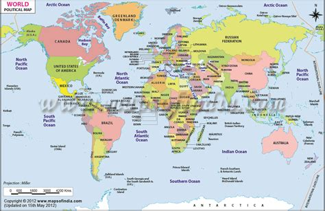 Printable Maps For Students | printable world maps