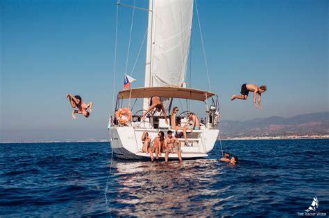 yacht week boat blog the yacht week