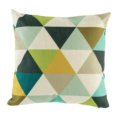 Blue Patterned Cushions Uk | buy bronte diamond cushion cover 45cm online simply cushoins