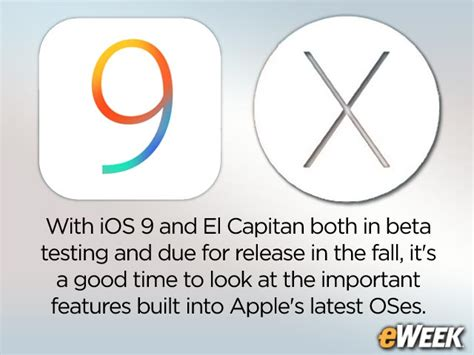 10 Best Images About Beta 10 best features in ios 9 os x el capitan beta test releases