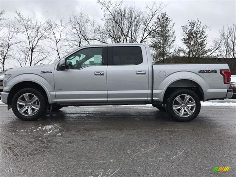 ford 2017 silver 2017 ingot silver ford f150 platinum supercrew 4x4