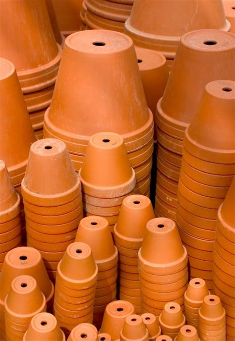 Flower Pot Sale saving money on terra cotta pots thriftyfun