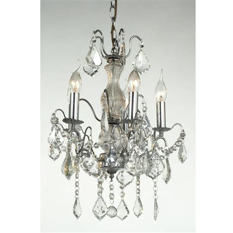Antique Style Chandeliers 5 Arm Chrome Antique Style Chandelier Lighting