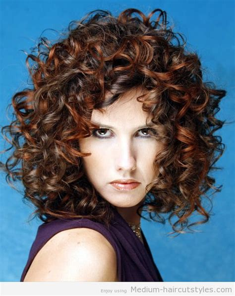 adding curls to lob haircuts best ideas about medium curly hair styles medium curly