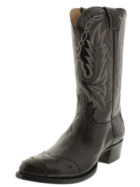 mens ostrich skin boots 17 best images about s ostrich boots on