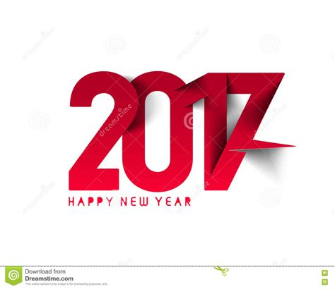 happy new year text vector happy new year 2017 text design stock vector image 82039760