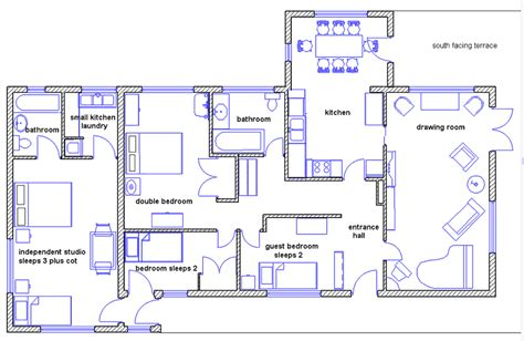 how to make floor plans draw house plans smalltowndjs com