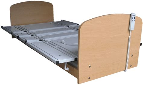 bett verbreitern pflegebett mit ausklappbarer liegefl 228 che caretec der