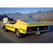 Grabber Yellow 1971 Boss 351 Ford Mustang Fastback  MustangAttitude