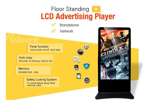 Digital Signage Murah 65 Inch Android System Wifi Lan Hdmi kerchan 65 inch floor standing interactive digital signage