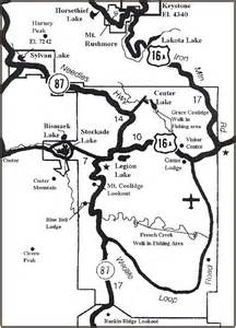 Custer State Park Map by Quot Home Waters Part 6 Fly Angler S Online