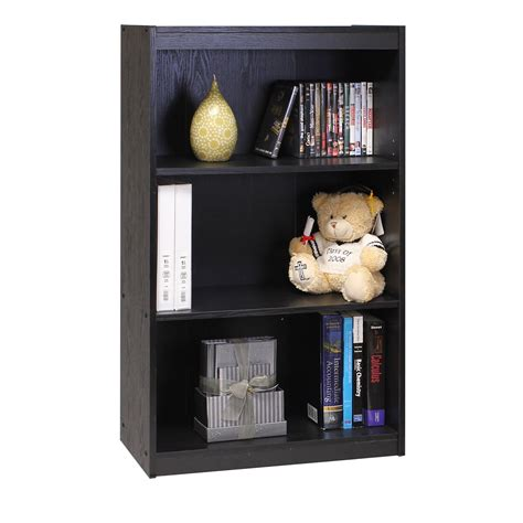 furinno 3 tier bookcase furinno 11138bk no tool 3 tier bookcase furniturendecor com