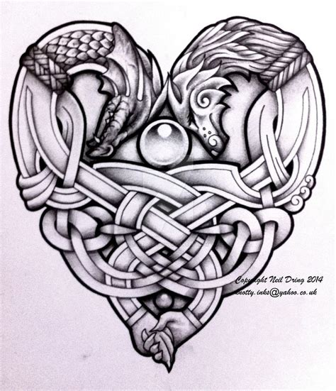 celtic dragon tattoo 1000 ideas about celtic tattoos on