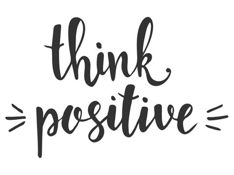 Think Be Positive wandtattoo think positive positiv denken wandtattoos de